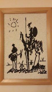 Suat Dursun Artwork Mosaic reproduction of don quixote , 2013 Mosaic, Famous People