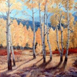 Aspen Grove in East Fork