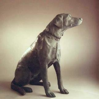 Bronze Sculpture by Sue Jacobsen titled: Cassidy, created in 1996