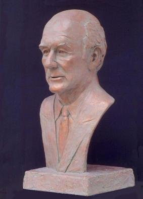 Bronze Sculpture by Sue Jacobsen titled: Honorable Cecil Andrus, 2004