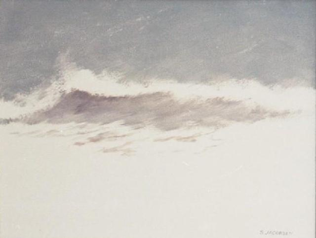 Sue Jacobsen  'Stormy Seas', created in 1995, Original Painting Acrylic.