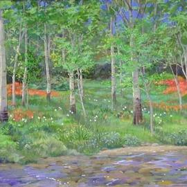 Streamside Wild Paintbrush By Sue Jacobsen