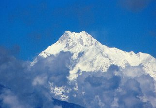 Color Photograph by Sumant Barooah titled: Mt Kunchanjunga, 2008