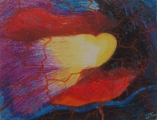 Sumitha Baluchamy Artwork Melody of love, 2005 Pastel, Love