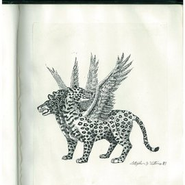 Vision Of The Four Beast Leopard