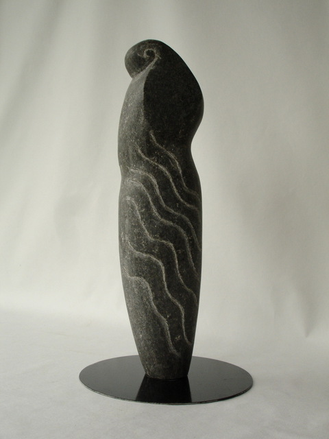Susanne Holmberg  'Sea Godess', created in 2005, Original Sculpture Stone.