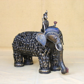 Sakhuja Sushil Artwork Indian god of love Kaamdeva, 2008 Mixed Media Sculpture, Mythology