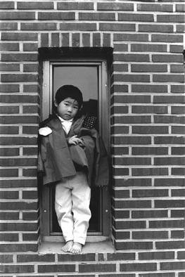 Hidesawa Sudo Artwork A Boy, 2002 Black and White Photograph, Portrait