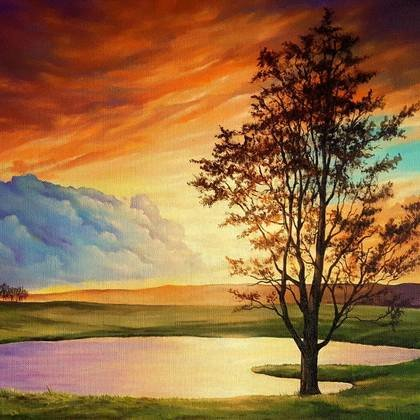 , Piece Of Heaven, Landscape, $1,774