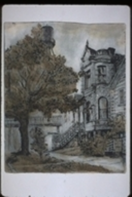 Sofia Wyshkind Artwork Where George Lived, 1993 Other Printmaking,
