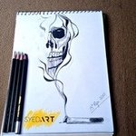 smoking kills drawing By Syed Waqas  Saghir