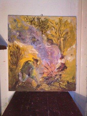 Silye Andras Artwork fire lighter, 2010 Mixed Media, Abstract Landscape