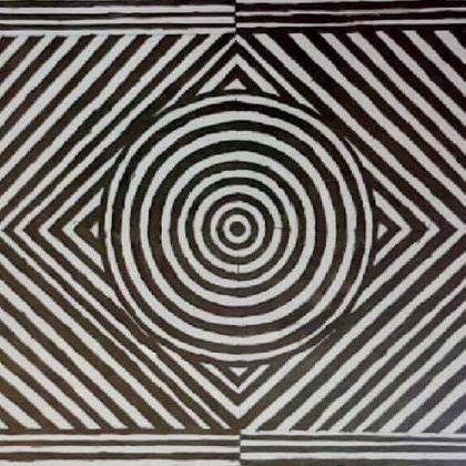 , Optical Illusion, Abstract, $7,875