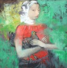 - artwork Chernushka-1267294706.jpg - 2009, Painting Oil, Figurative
