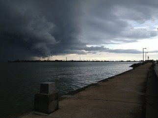 Markus Kruse: 'approaching storm', 2013 Color Photograph, Landscape. Artist Description:            testing upload           ...