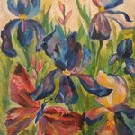 irises By Tamara Black