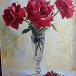 red roses By Tanya Balaeva