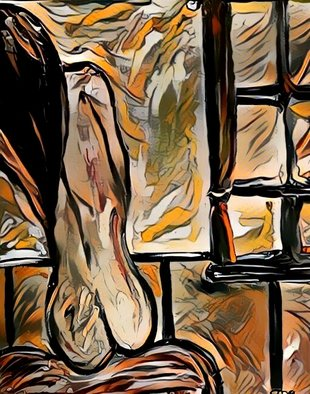 Tanya Martin: 'nude', 2011 Other Painting, nudes. Artist Description: Expressionism, prints, art, originals, tanya, martin...