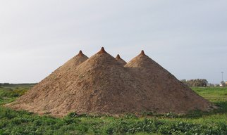 Tanya Preminger: 'Pyramid', 2009 Other Sculpture, Landscape.   Earth work- environmental art- outdoor Gallery  ...
