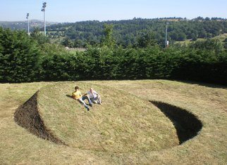 Tanya Preminger: 'Round Balance', 2008 Other Sculpture, Landscape.  Earth work- environmental art ...