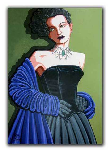Tara Hutton  'Olivia', created in 2002, Original Painting Acrylic.