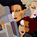 woman times three By Tara Hutton