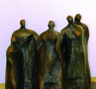 Sharad Tarde: 'Group', 2013 Mixed Media Sculpture, Abstract Figurative.