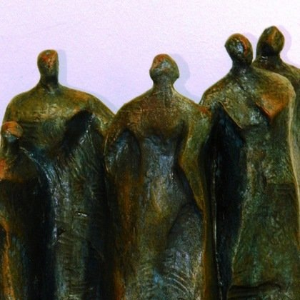 , Group, Abstract Figurative, $368