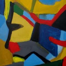, Colors In Life, Abstract, $525