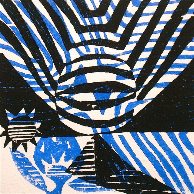 Artist Tarrvi Laamann. '211212' Artwork Image, Created in 2012, Original Printmaking Woodcut. #art #artist