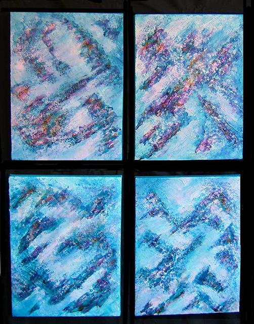 Tary Socha  'Alpine Snowfall', created in 2005, Original Painting Other.
