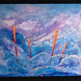 Five Poles  By Tary Socha