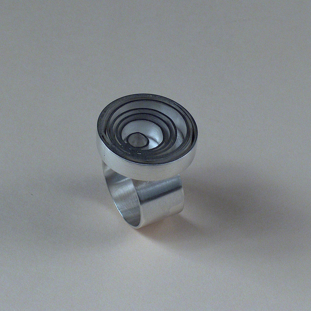 Tasha Tatro  'Circle Ring', created in 2007, Original Jewelry.