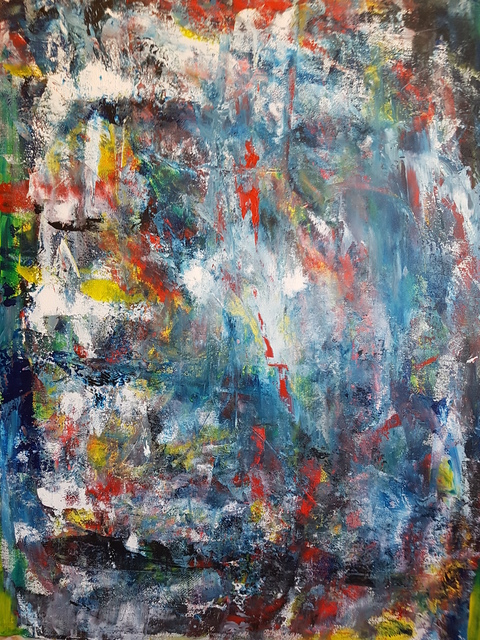 Artist Tasso Marinakis. 'Inevitable' Artwork Image, Created in 2015, Original Painting Acrylic. #art #artist