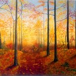 Autumn Forest By Tatyana Bondareva