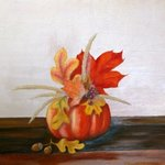 Autumn Still Life By Tatyana Bondareva