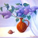 Bouquet of Lilacs By Tatyana Bondareva