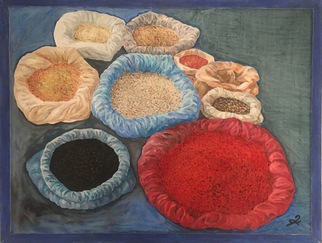 Mikheil Tchavtchavadze Artwork flavourings, 2010 Oil Painting, Still Life