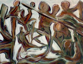 Terrance Depietro Artwork Initiation, 1999 Initiation, Abstract
