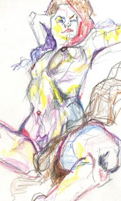 Giffin Ted Artwork Bawdy Girl, 2014 Bawdy Girl, Figurative