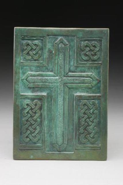 Ted Schaal: Cross, 2005 Bronze Sculpture