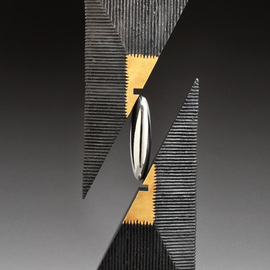 Ted Schaal: 'Prime', 2015 Mixed Media Sculpture, Abstract. Artist Description:  Prime combines all of my favorite elements from other sculptures into one...