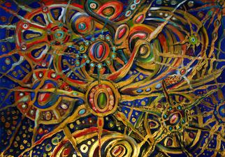 Artist: Temo Dumbadze - Title: Ocean floor - Medium: Oil Painting - Year: 2013