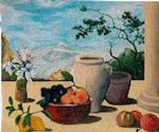 Teresa Andree Artwork terrace, 2000 Other Painting, Still Life