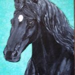 Black Mare By Teresa Peterson