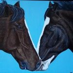 Horses in Love By Teresa Peterson