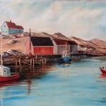 near peggys cove By Teri Paquette