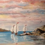 sailboats By Teri Paquette
