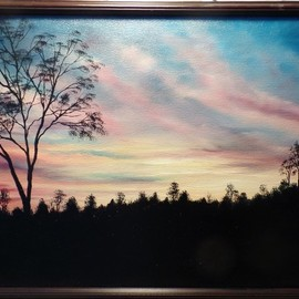 sunset to remember  By Teri Paquette