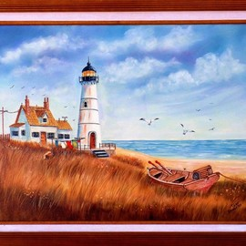 the lighthouse By Teri Paquette